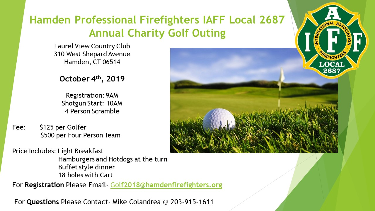 2019 Charity Golf Outing